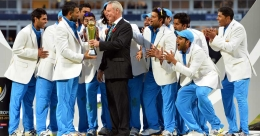 When Dhoni became the first captain to win all three ICC titles