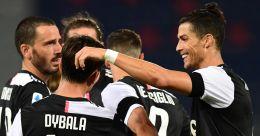 Serie A: Ronaldo, Dybala score as Juve down Bologna | Video