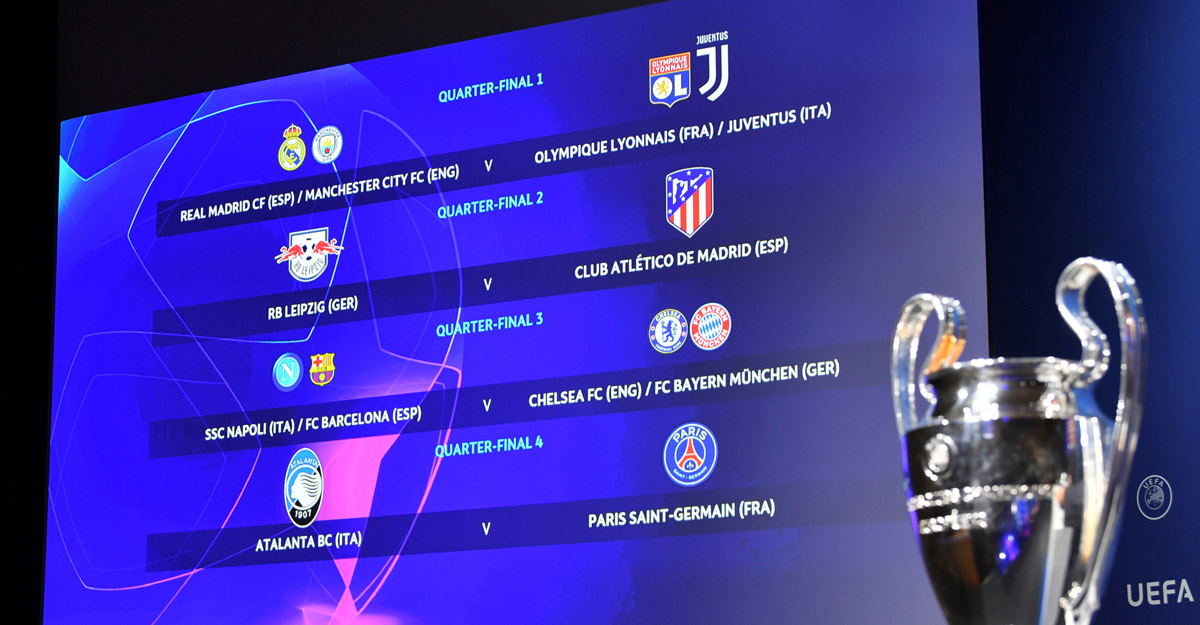 Champions League, Europa draws pit football's finest against each other