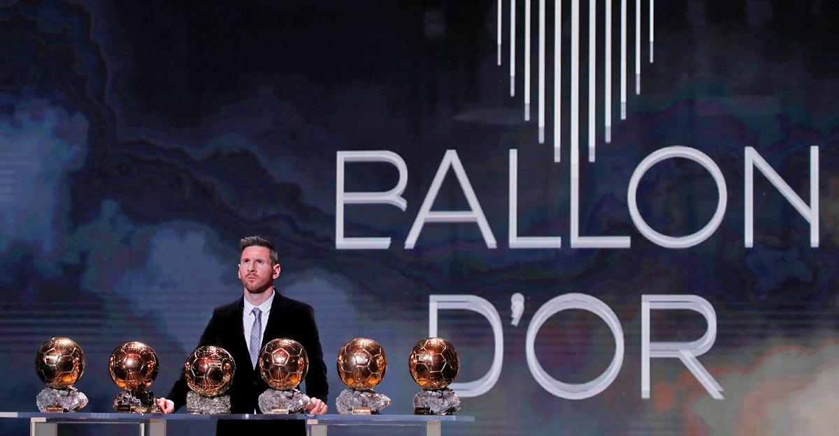 Ballon d'Or cancelled this year amid coronavirus disruption