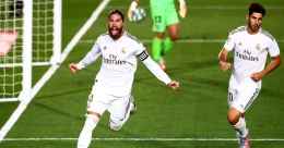 Ramos penalty sends Real Madrid four points clear at the top
