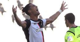 Ronaldo ends free-kick goal drought as Juve drub Torino