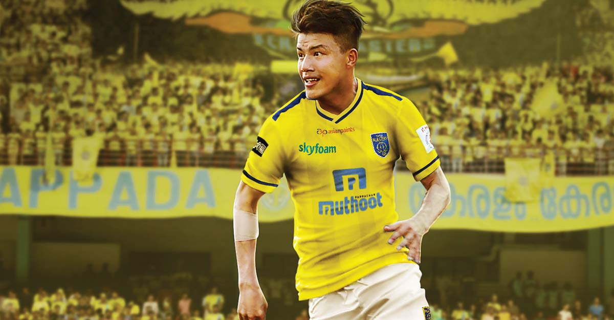 Kerala Blasters sign attacking midfielder Givson Singh