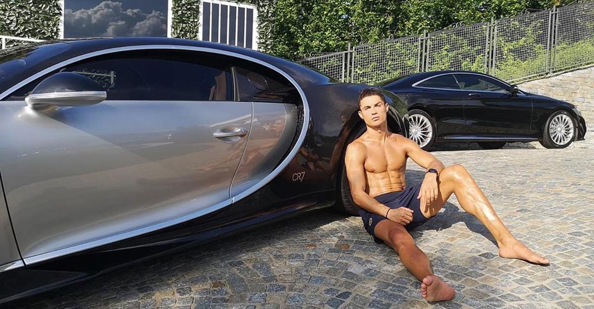 Ronaldo adds limited-edition Bugatti Centodieci to his collection
