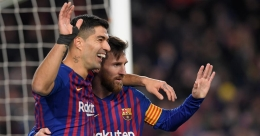 You deserved a farewell befitting who you are, Messi tells Suarez