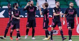 La Liga: Ramos scores winning penalty as Real Madrid edge Betis
