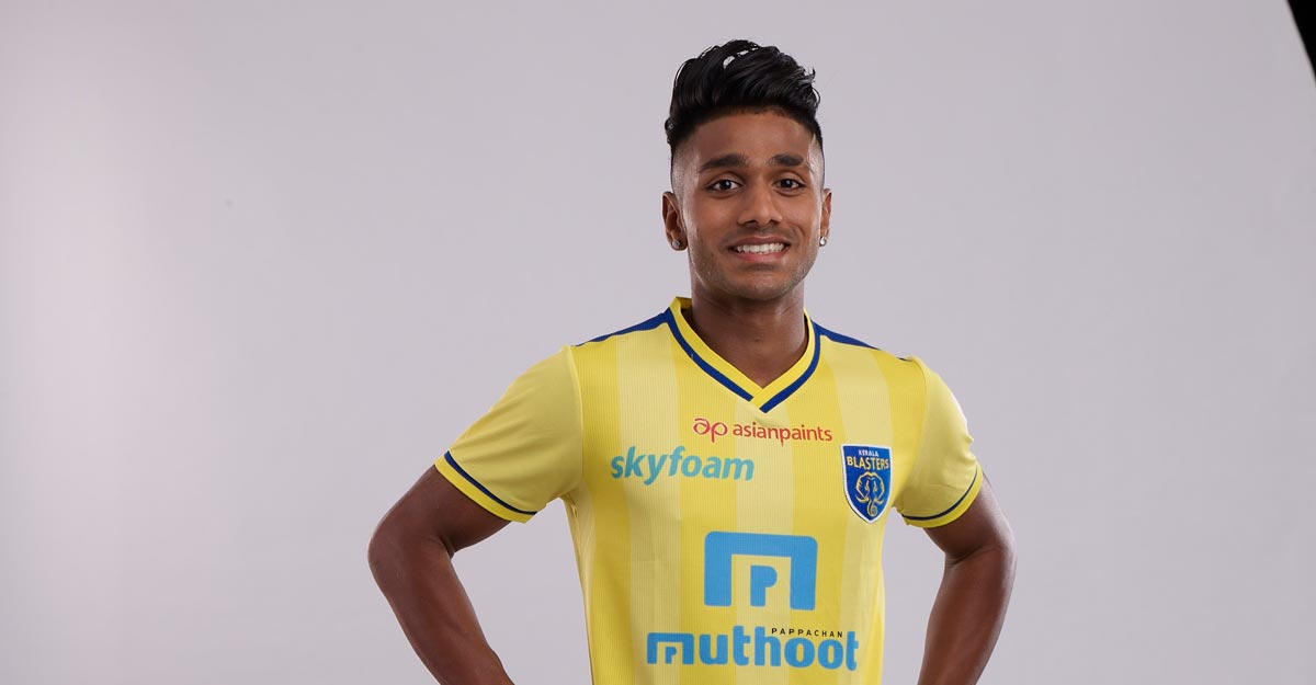 Kerala Blasters extend contract with Rahul KP