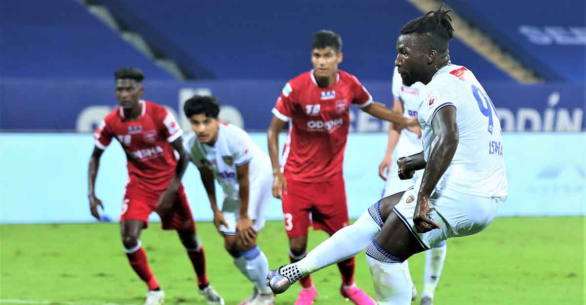 ISL: Goncalves brace lifts Chennaiyin to fifth spot