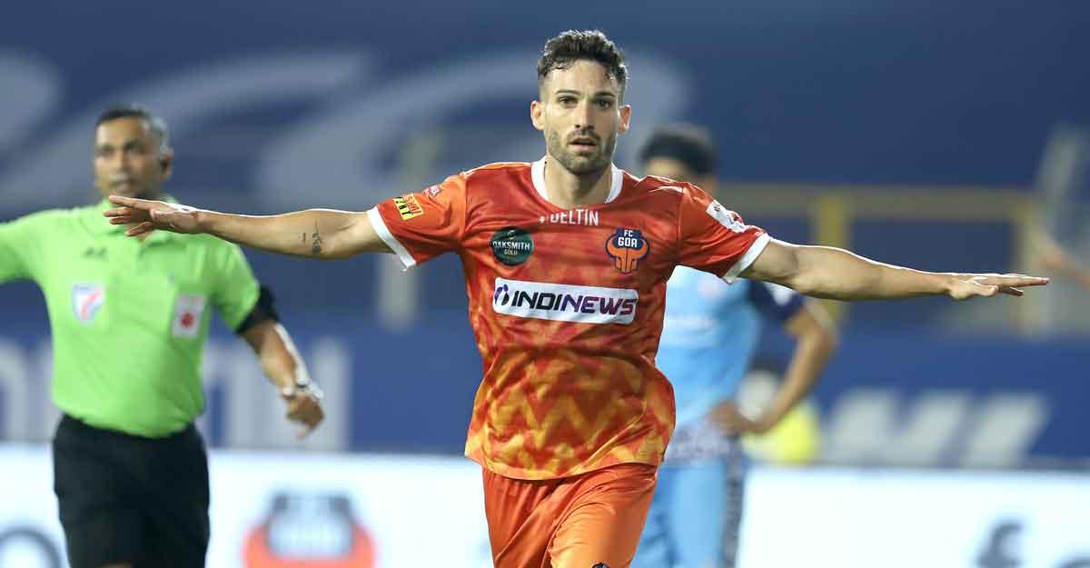 ISL: Ortiz stars as FC Goa blank Jamshedpur
