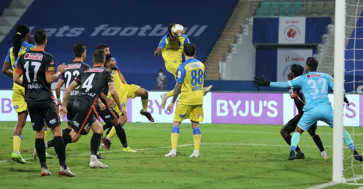 ISL: Kerala Blasters, FC Goa split points