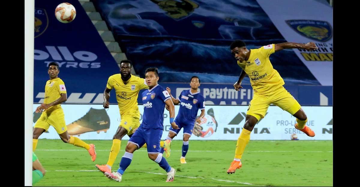 ISL: Mumbai blunder gifts late equaliser to Chennaiyin