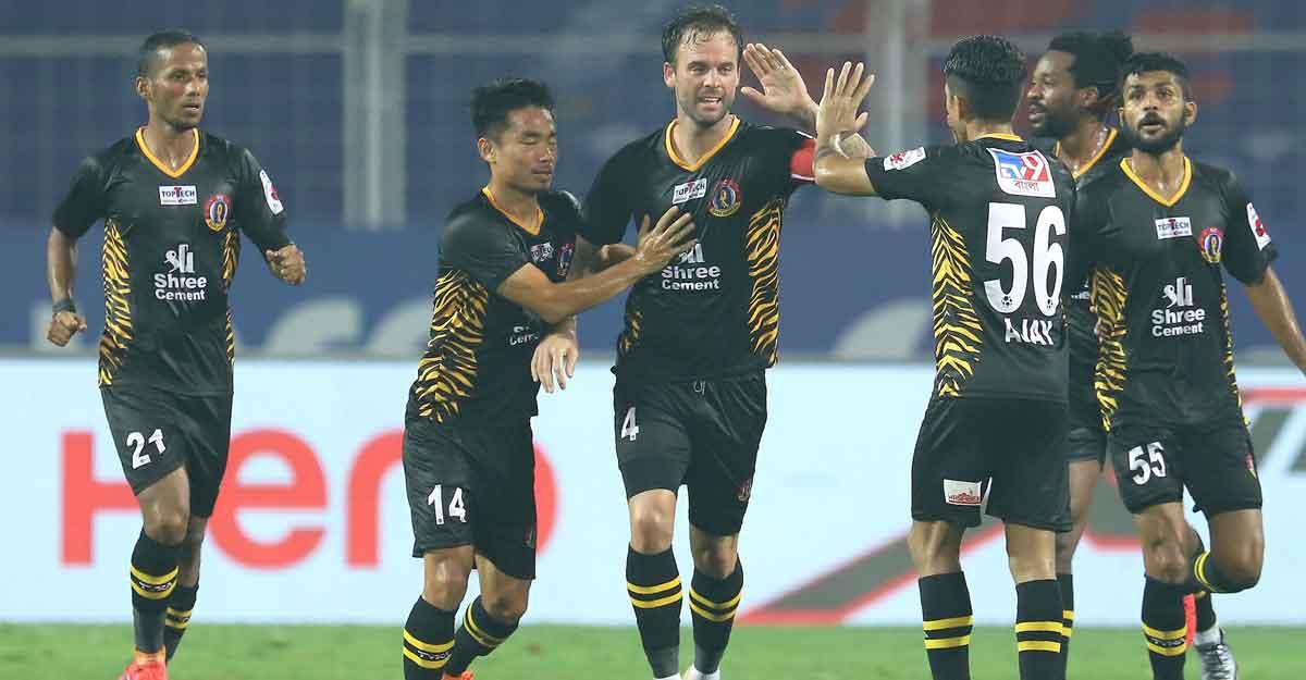 ISL: FC Goa, SC East Bengal split points