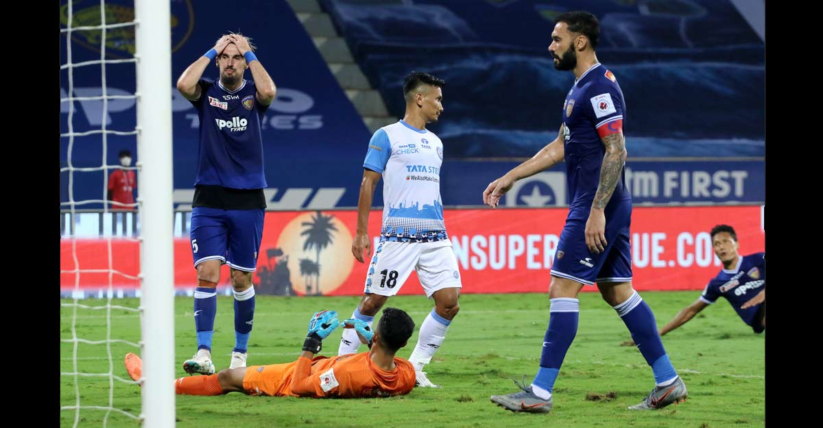 ISL: Jamshedpur beat Chennayin 1-0, keep play-off hopes alive