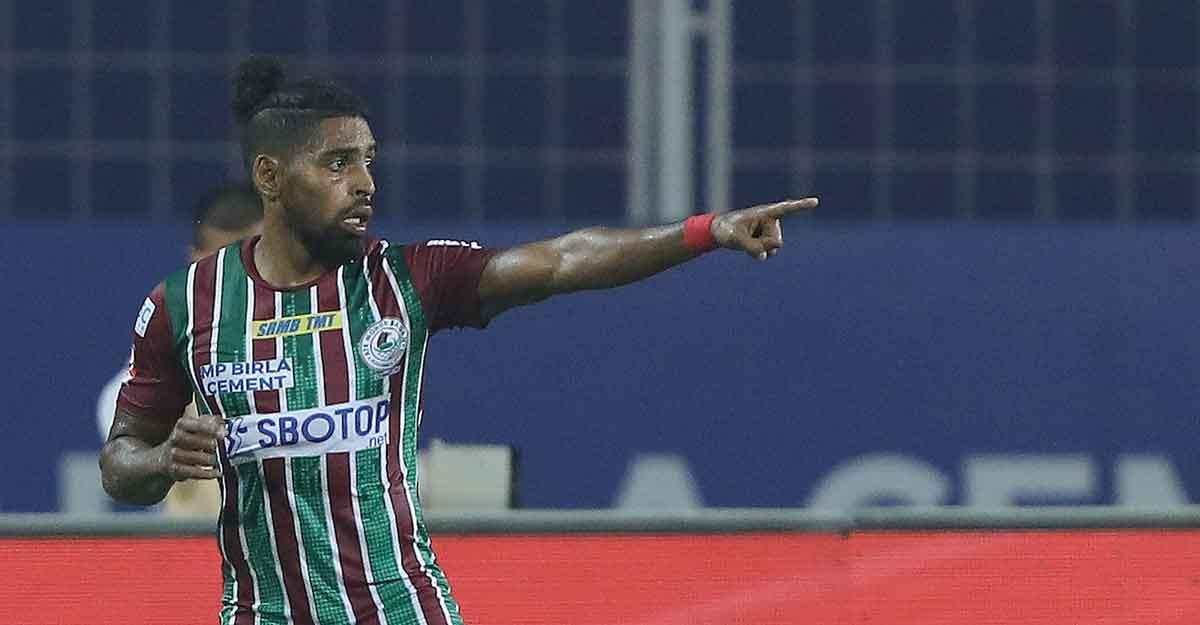 Roy Krishna scores late goal to help ATK Mohun Bagan reclaim top spot