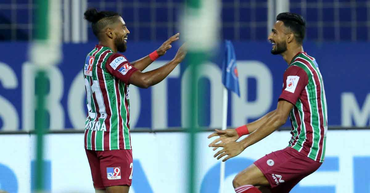 Roy Krishna dazzles as ATK Bagan win Kolkata derby