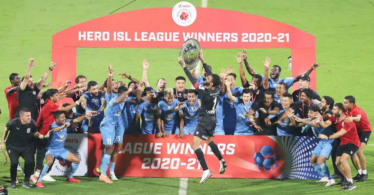 ISL: Mumbai City beat ATK Bagan, clinch  League Winners Shield