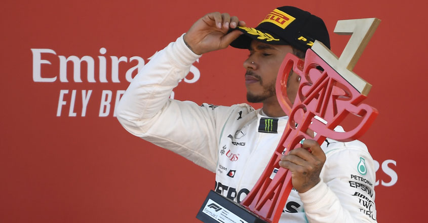 Hamilton back on top with Spanish Grand Prix win