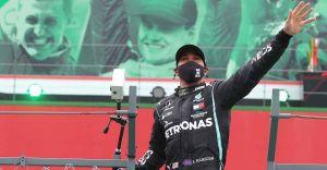 F1: Hamilton sets world record with win at Portuguese GP