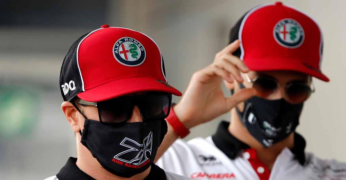 F1: Raikkonen, Giovinazzi to stay with Alfa Romeo next season