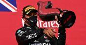 F1: Hamilton wins at Imola as Mercedes clinch constructors' title