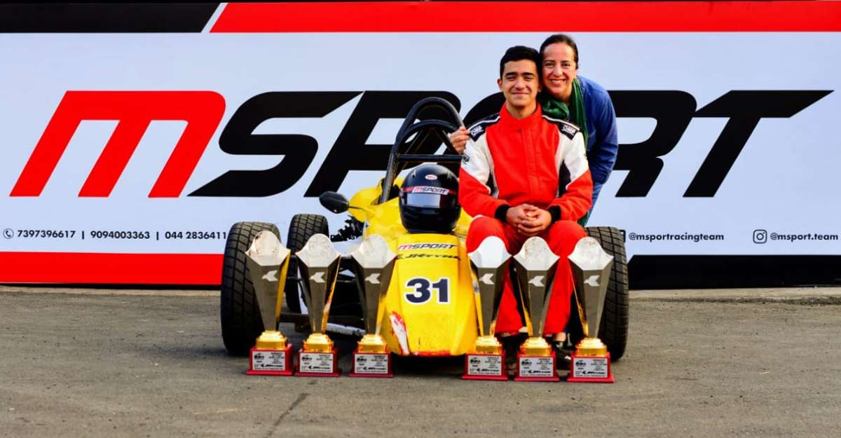 Kottayam lad Amir Sayed takes racing track by storm