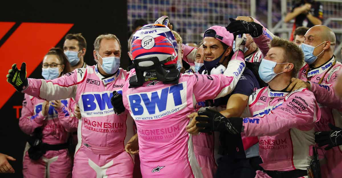 Perez clinches maiden F1 win after heartbreak for super-sub Russell