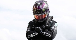 Hamilton dedicates Belgian pole to 'superhero' Boseman