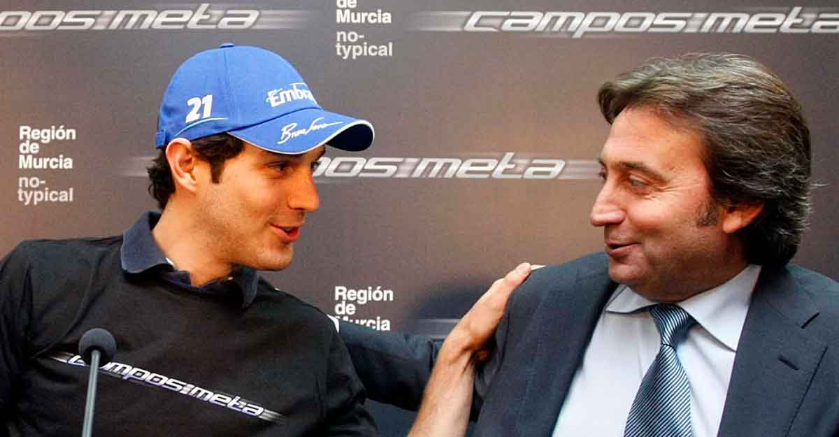 Team owner and former F1 driver Adrian Campos dies
