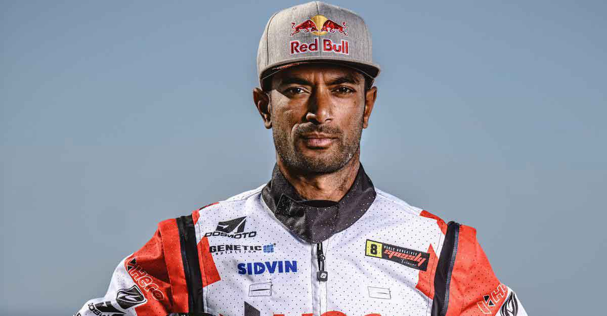 Racer Santosh in medically-induced coma after crash in Dakar Rally