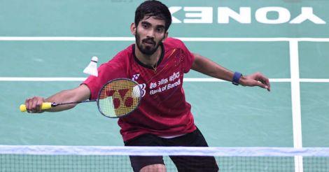 CWG: Srikanth settles for men's singles silver