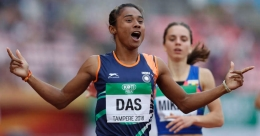 Hima's glittering show a golden boost for Indian athletics