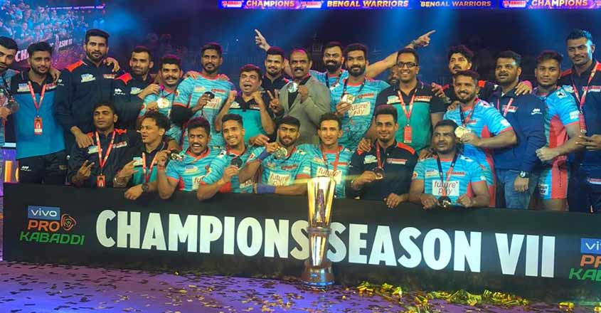 Bengal Warriors lift maiden Pro Kabaddi League title