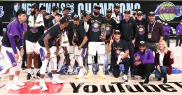 Los Angeles Lakers clinch  record-tying 17th NBA Championship