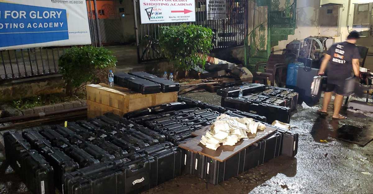 Rain damages equipment worth Rs 1.3 crore at Narang's shooting academy
