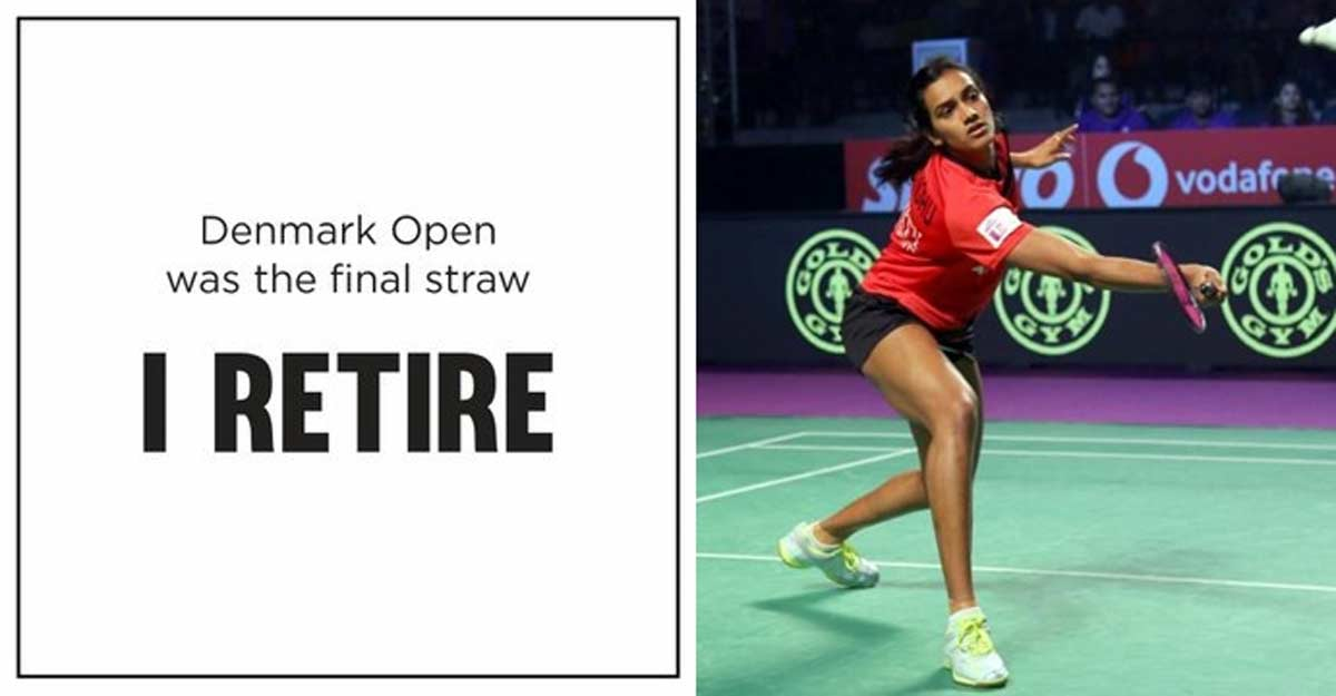 'I Retire': PV Sindhu's cryptic post sends shock waves on social media