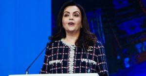 American magazine recognizes Nita Ambani among top philanthropists of 2020