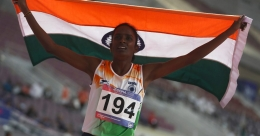 Gomathi slapped with four-year ban, stripped of Asian title