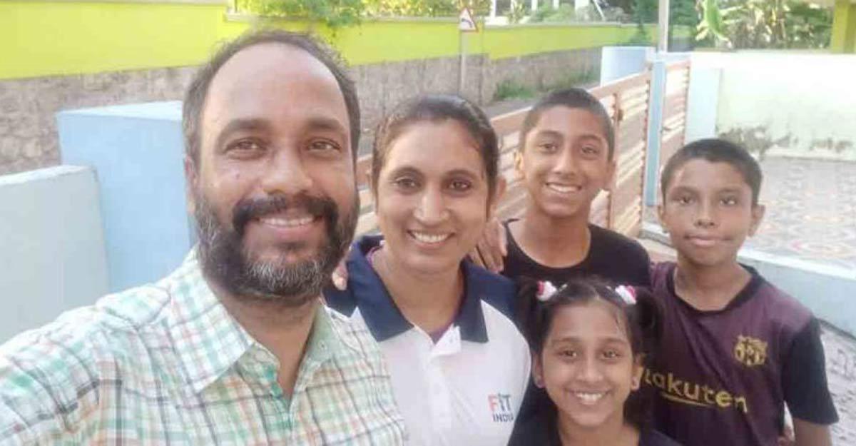 Jincy's family