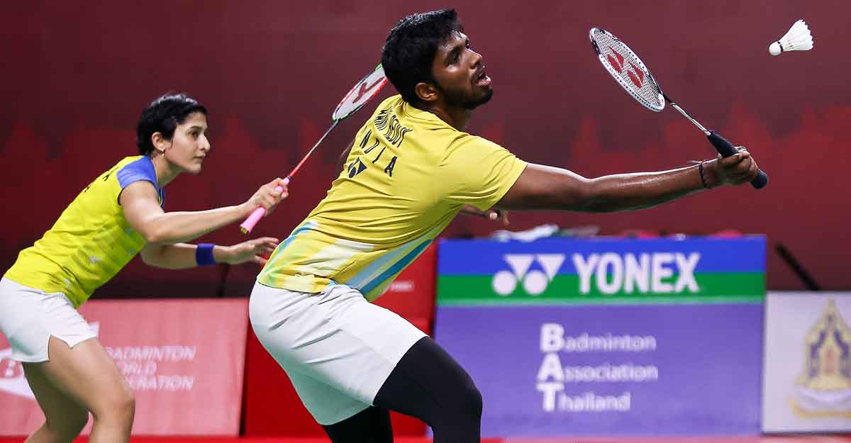 Thailand Open: Indian challenge ends as doubles pairs lose