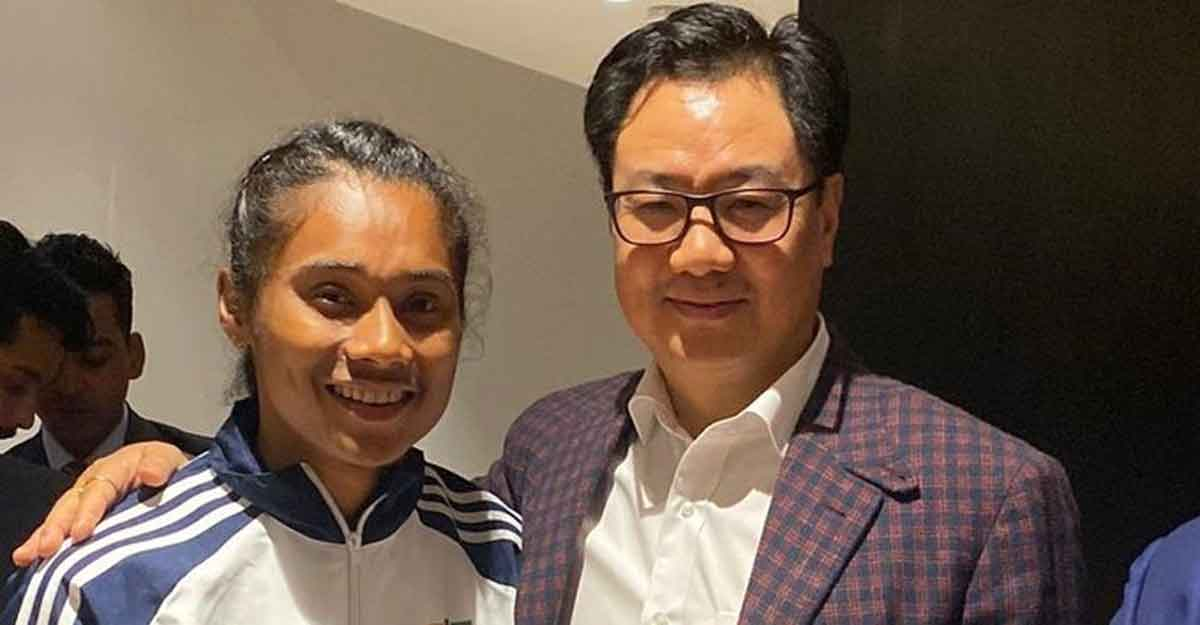 DSP Hima Das will keep running for India: Sports Minister