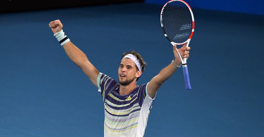 Thiem stuns Nadal to reach Australian Open semi-finals