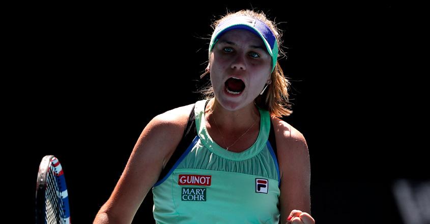 Kenin breaks Australian hearts by toppling Barty to reach final