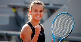 Teenager Burel lifts French spirits at Roland Garros