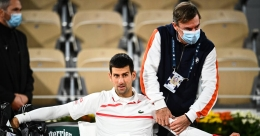 Carreno Busta accuses Djokovic of feigning injury problems