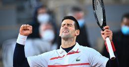 French Open: Novak Djokovic survives scare to beat Carreno Busta