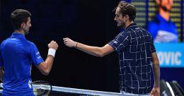 ATP Finals: Medvedev thrashes Djokovic