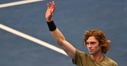 Vienna Open: Rublev down Sonego, wins fifth title of the year