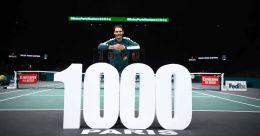 Paris Masters: Nadal scores 1,000th ATP Tour win