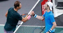 Nadal enters Paris Masters quarterfinals