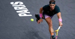 Nadal on course for maiden Paris Masters title